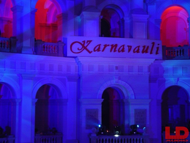 Karnavauli 2011 oświetlenie Martin